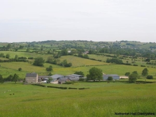 An area view of Netherton Hall