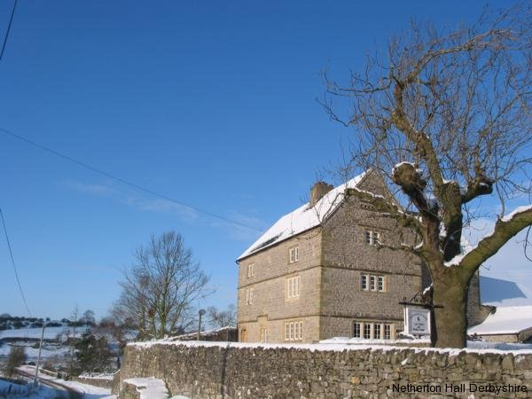Netherton Hall House in the Winter
