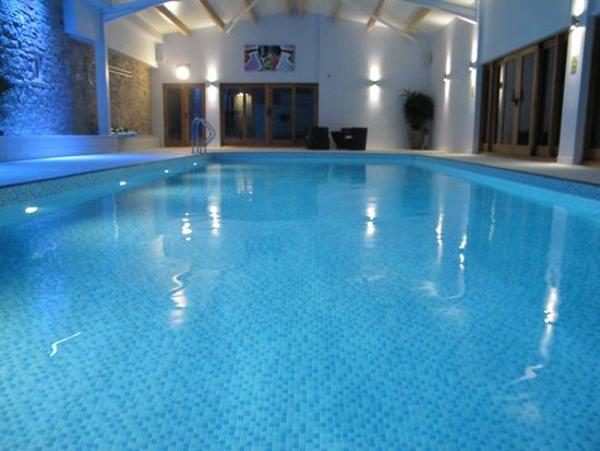 The Swimming Pool Complex Netherton Hall Derbyshire