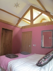 Wood Shed Pink Room