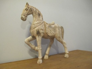 Wood Shed Horse